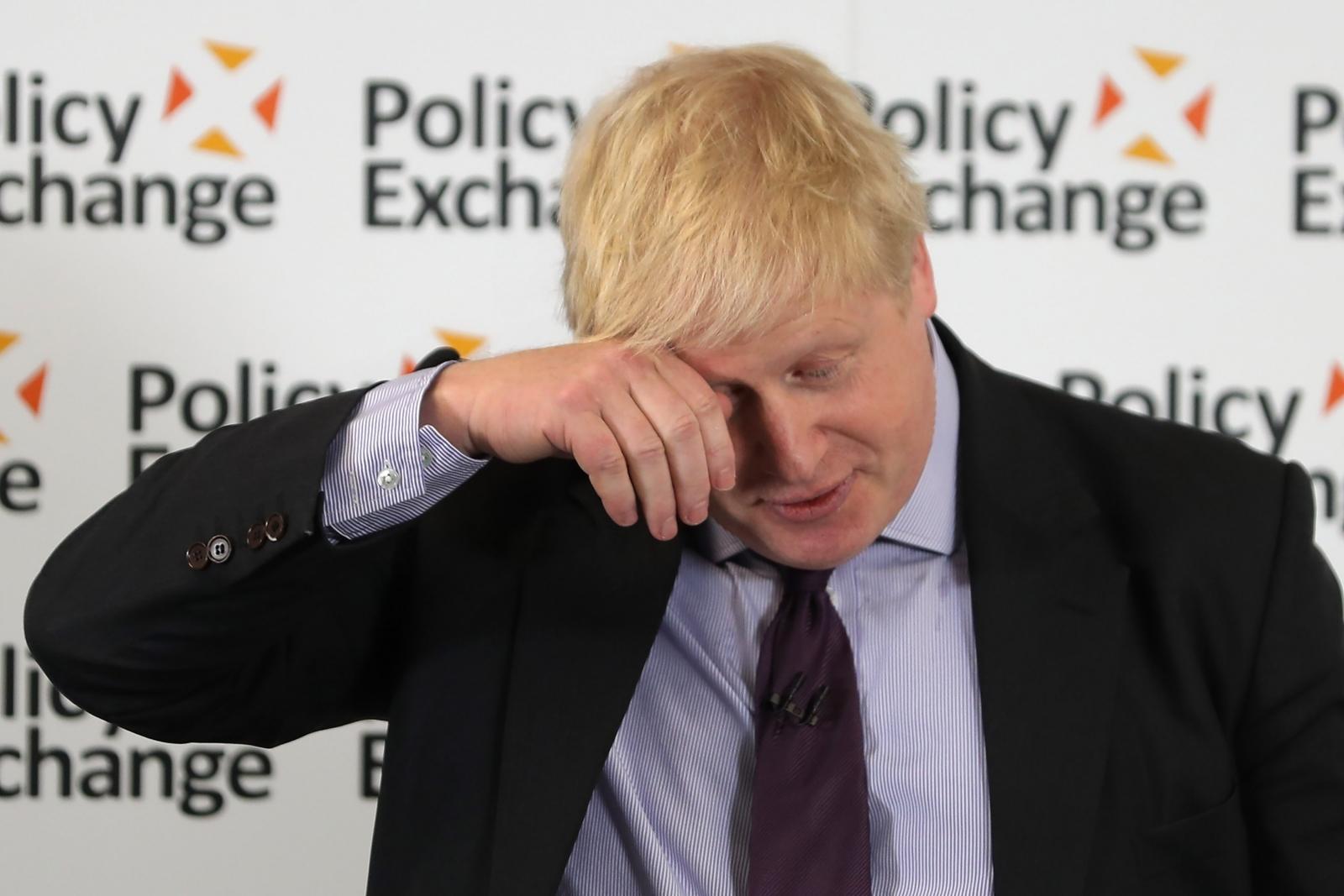 Boris Johnson delivers Brexit speech