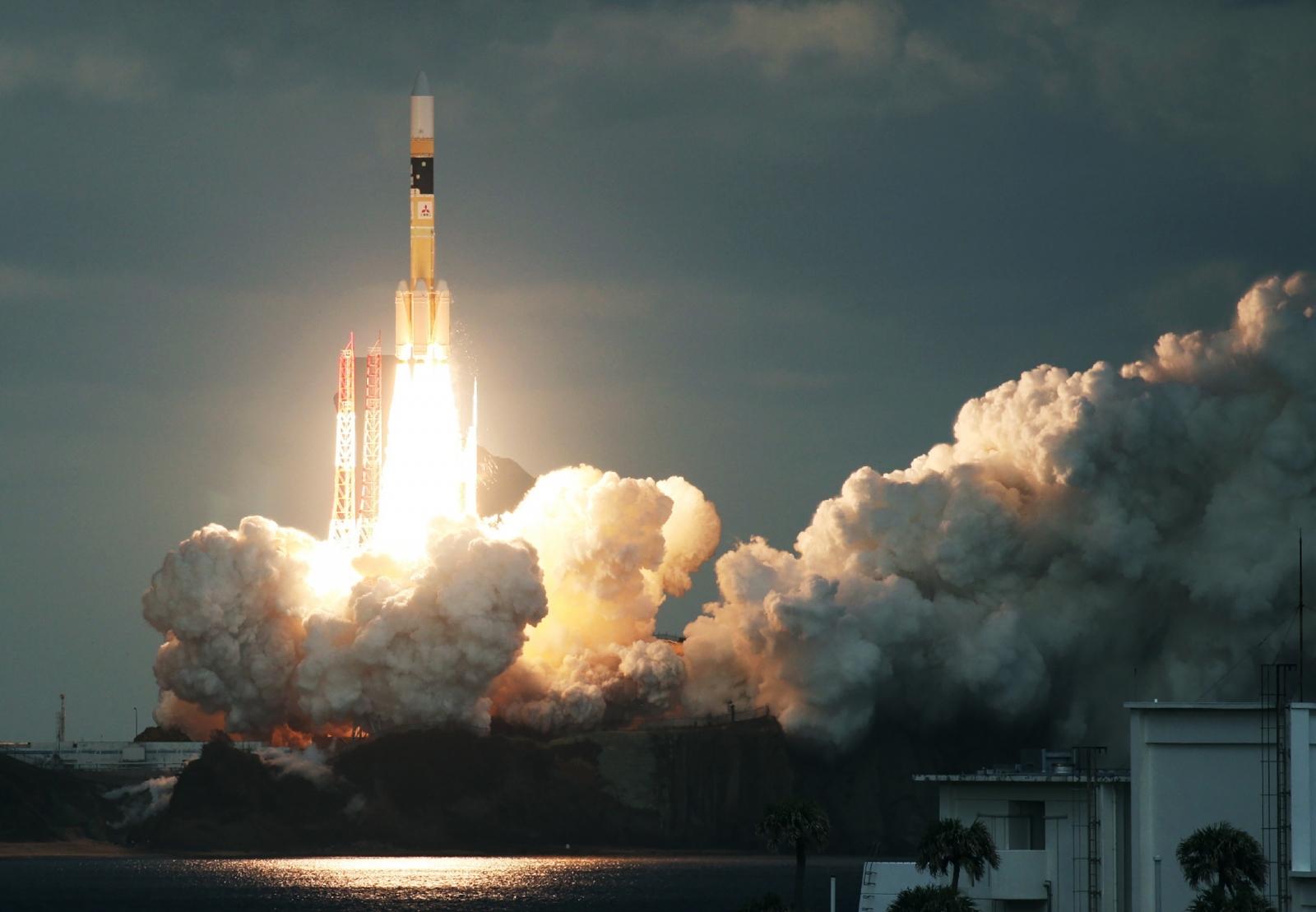 Japan launches defence satellite Kirameki-2