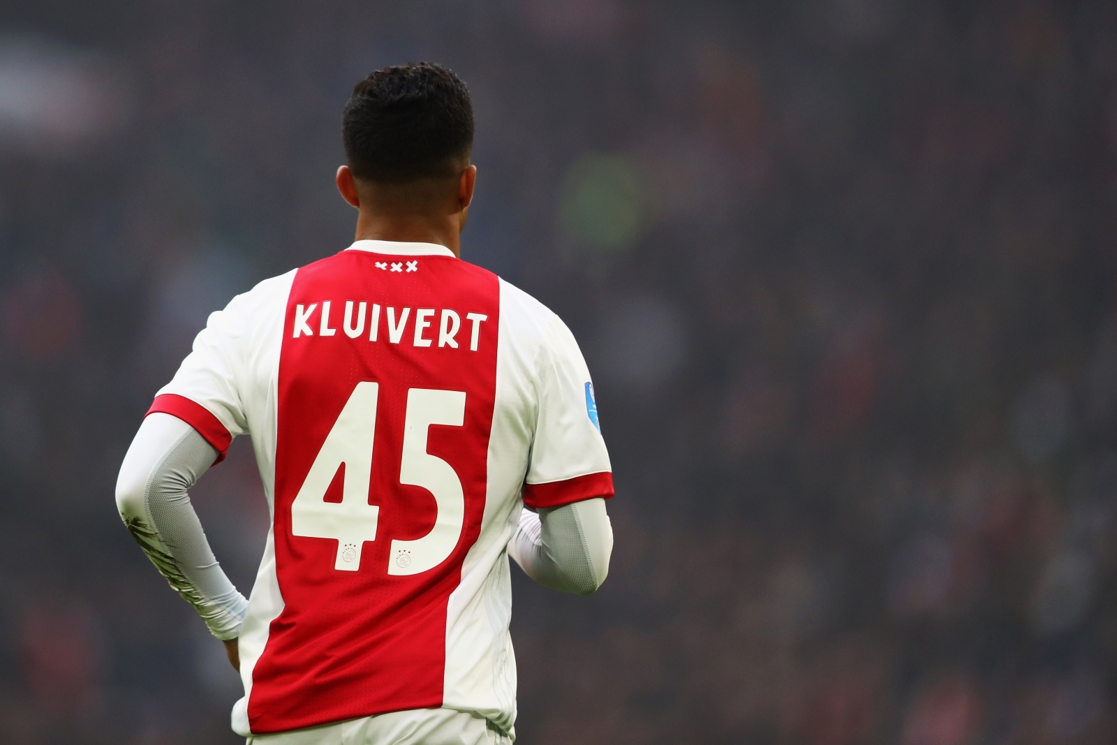 Barca legend Kluivert urges in-demand son to stay at Ajax