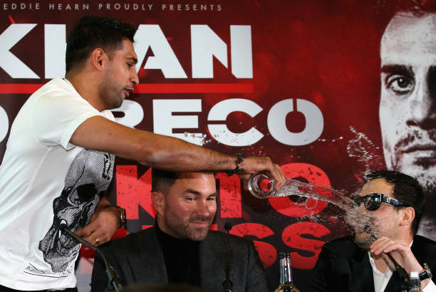 Amir Khan and Phil Lo Greco
