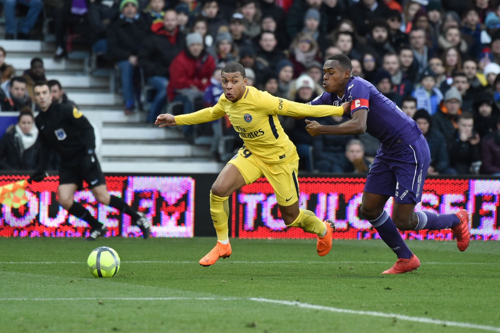 Kylian Mbappe and Issa Diop