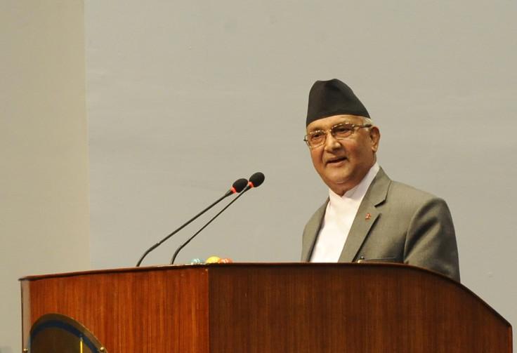 Nepal PM KP Oli Sharma address parliament