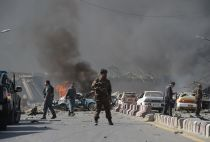Afghanistan truck bomb Kabul May 2017
