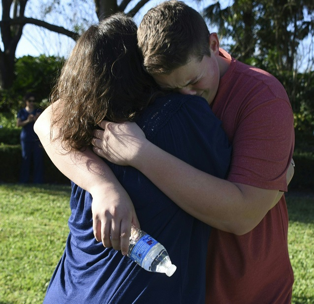 School Shooting Europe: Parents Whose Children Survived Parkland School Shooting