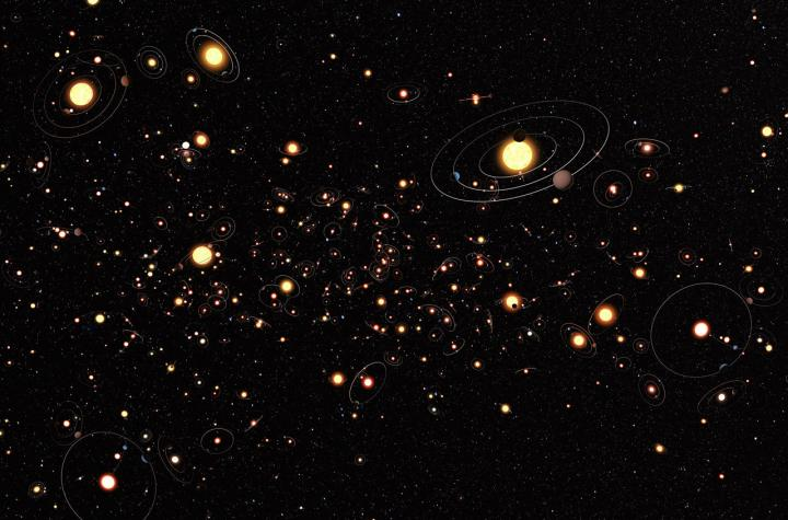Nearly 100 new planets discovered beyond our solar system