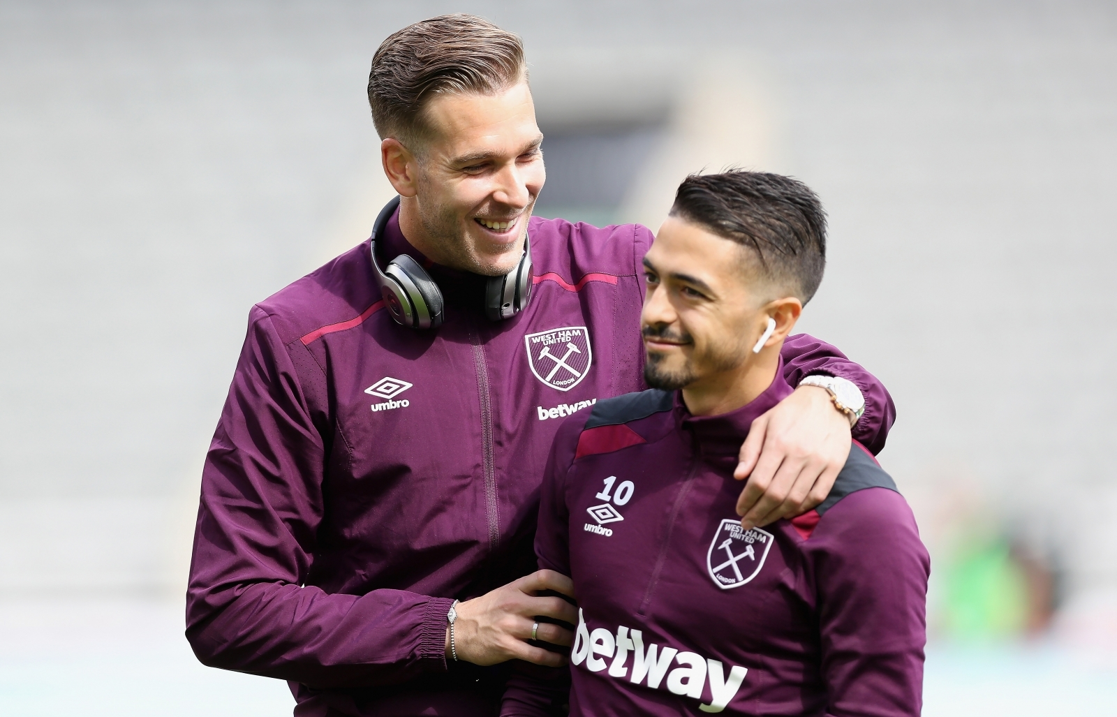 Adrian and Manuel Lanzini