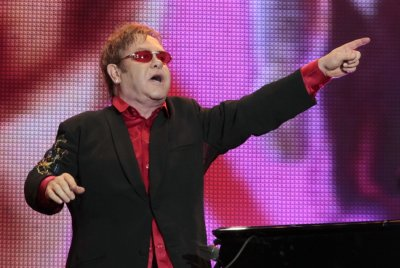 British musician Elton John