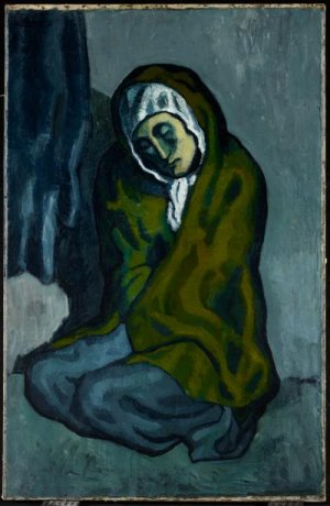 Picasso Crouching Woman