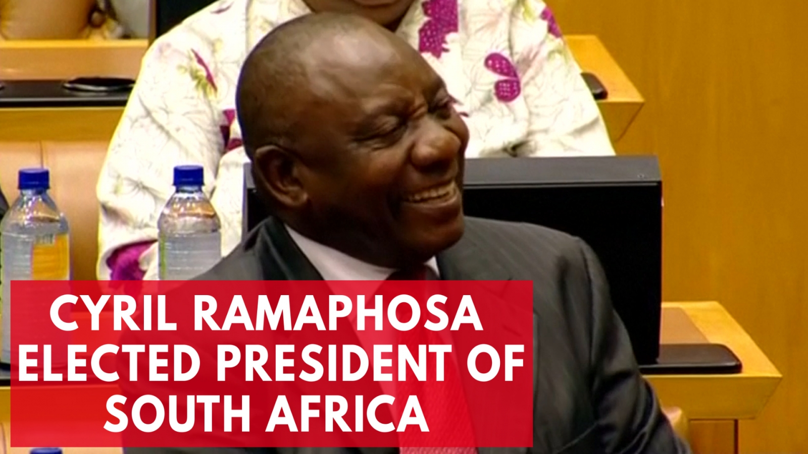 Who is Cyril Ramaphosa? South Africa's newly elected president