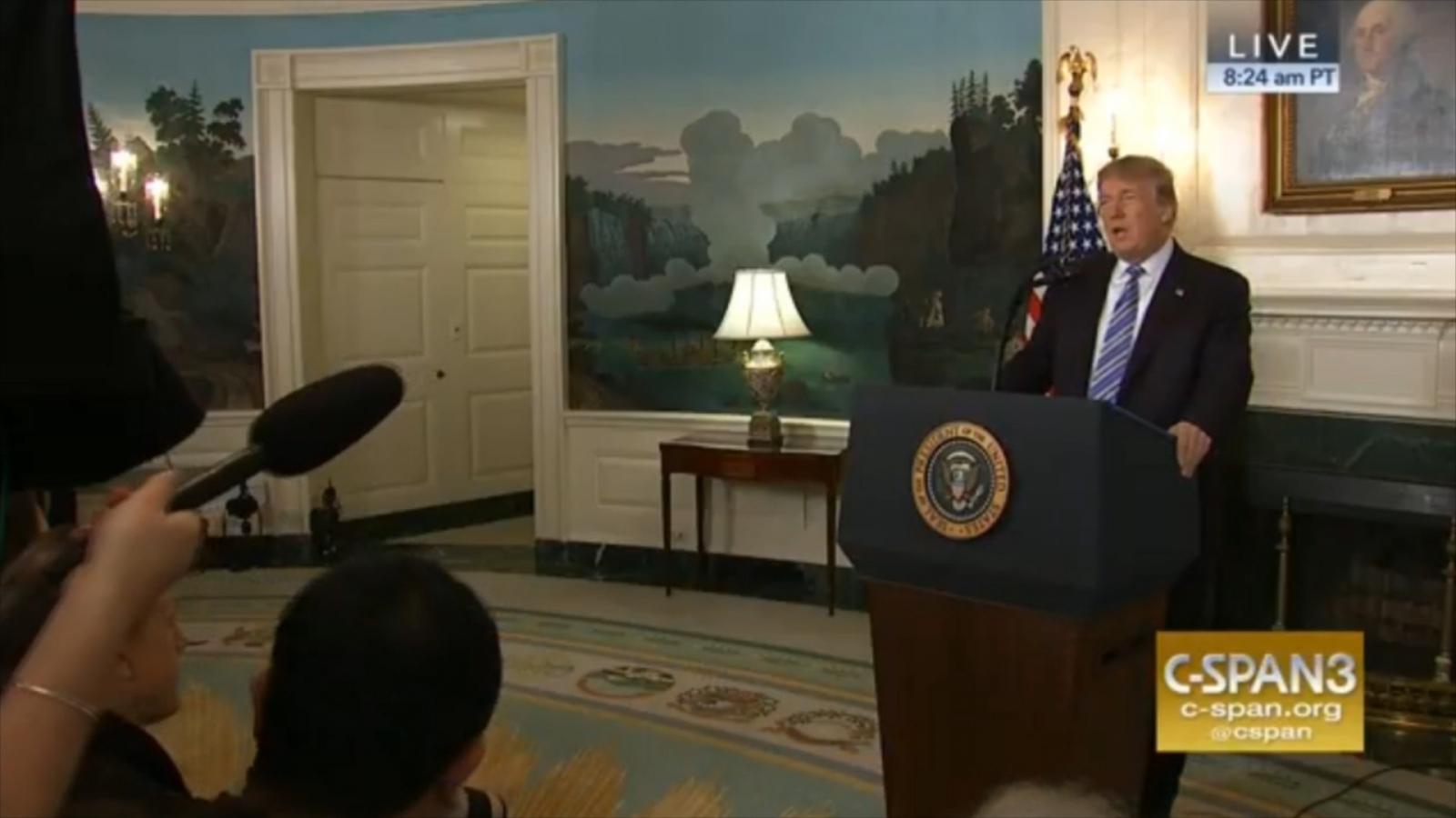 President Trump Announces Plans To Visit Parkland, Florida After Deadly School Shooting