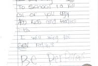 School shooting threat