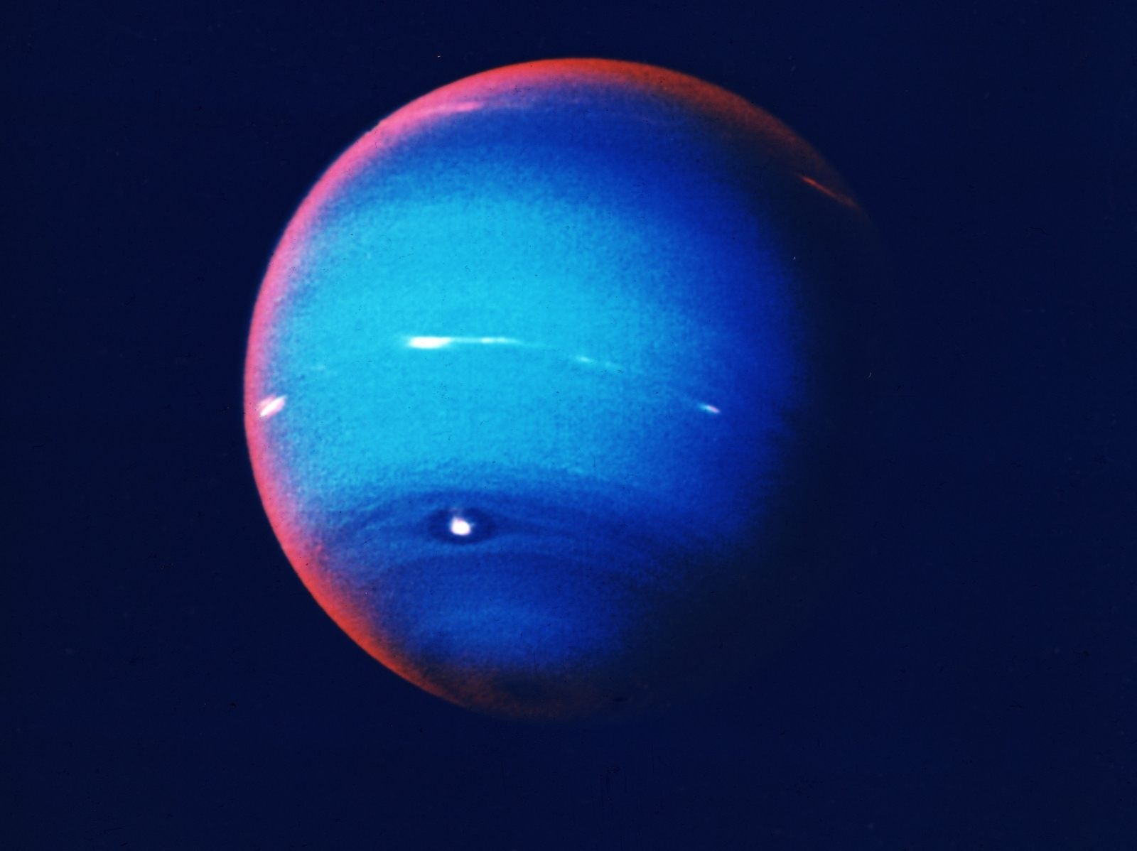 Hubble sees Neptune's mysterious shrinking storm