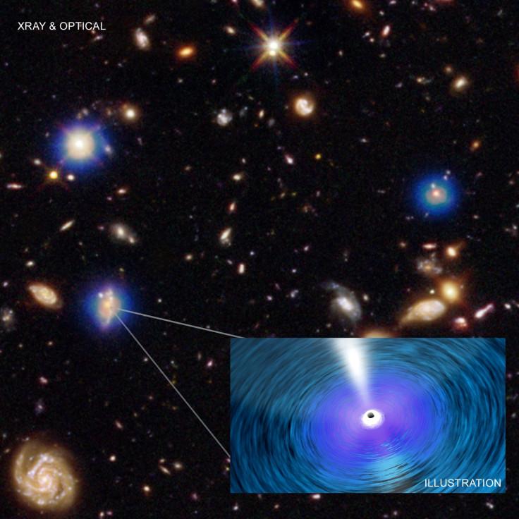 Distant black holes