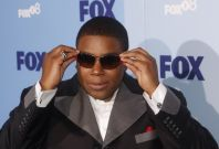 """Actor Kenan Thompson of """"Sit Down, Shut Up"""" arrives at the Fox Upfront after-party at Wollman Rink in Central Park"""