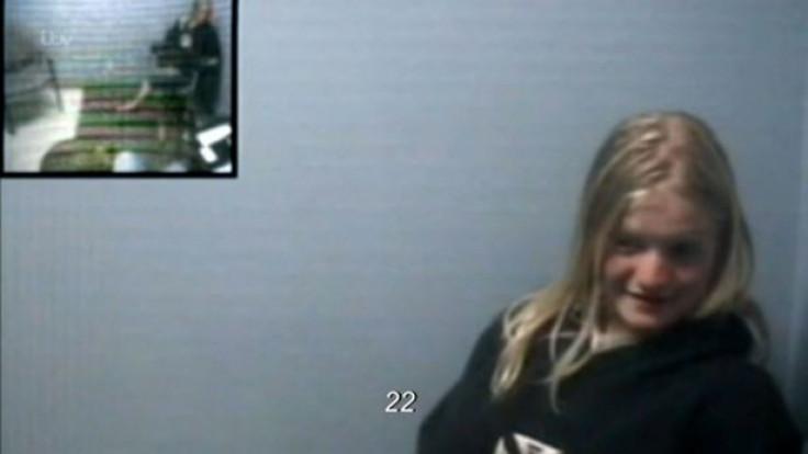 Chilling' – Child killer Morgan Leppert giggles on police