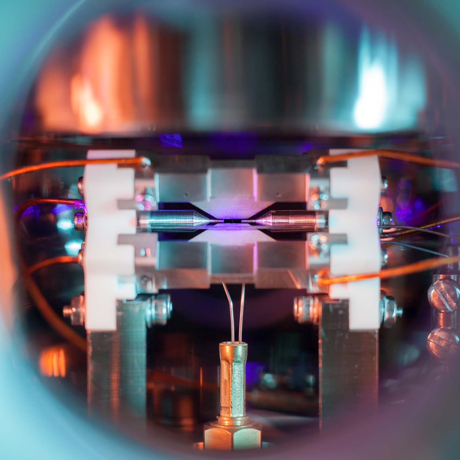 Single atom in Ion trap