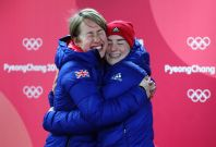 Lizzie Yarnold and Laura Deas