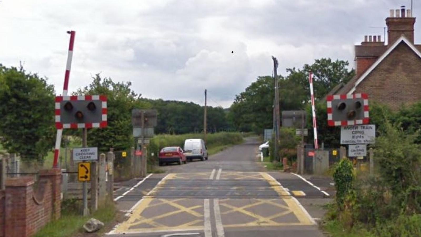Horsham level crossing