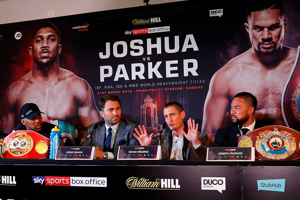 Anthony Joshua vs Joseph Parker press conference