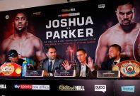 Anthony Joshua vs Joseph Parker press conference