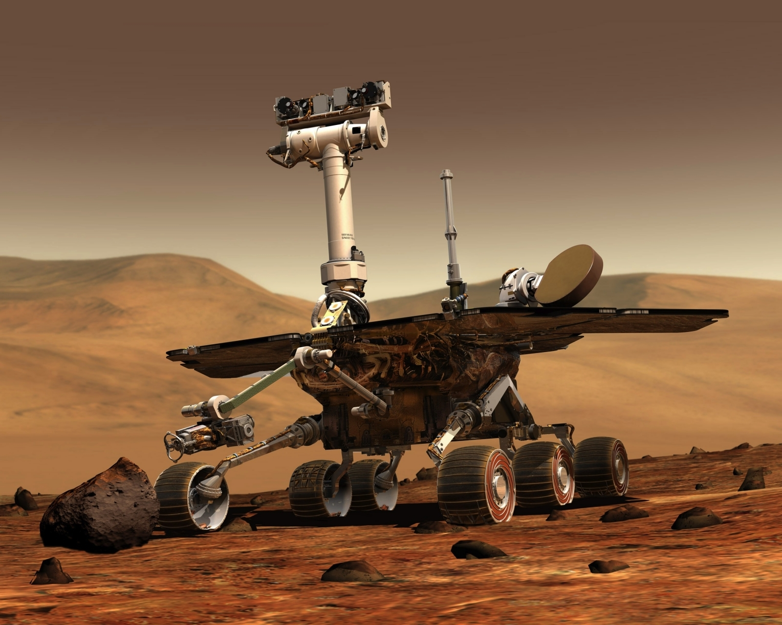 mars rover first photo - photo #16