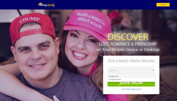 Trump dating site