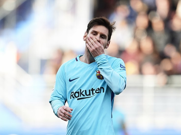 Lionel Messi admits 'weird things' happening in Barcelona