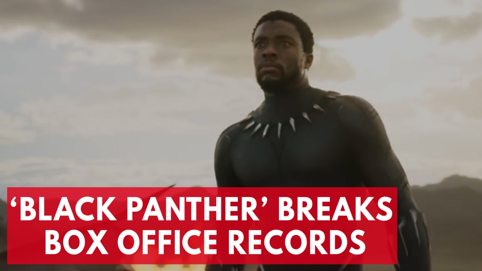 'Black Panther' Breaks Box Office Record In Opening Weekend