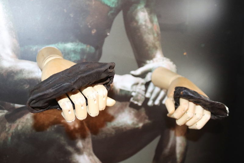 Roman boxing gloves unearthed by Vindolanda dig