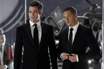 Chris Pine Tom Hardy