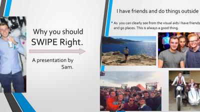Sam Dixey tinder profile