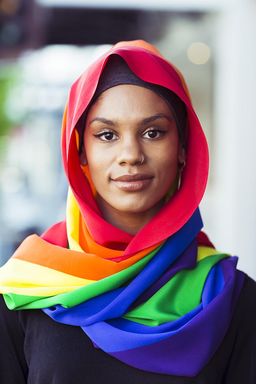 pride hijab