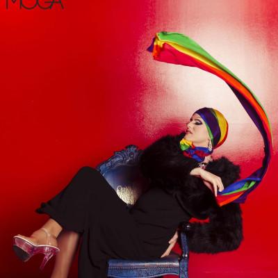 pride headscarf