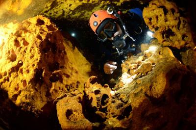 Sac Aktun underwater cave
