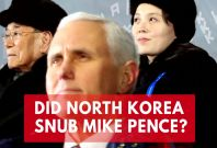 North Korea Canceled 'Planned Olympic Meeting' With Mike Pence At The Last Moment