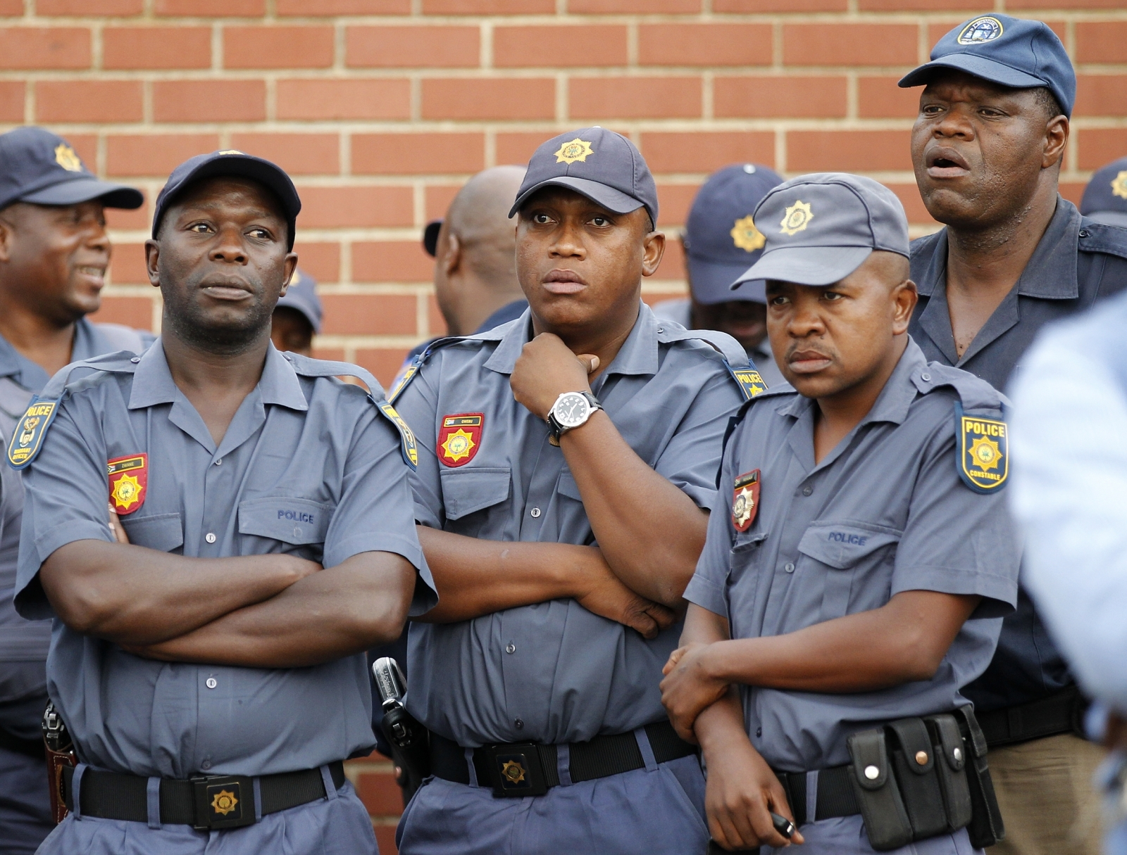 South Africa police station attack