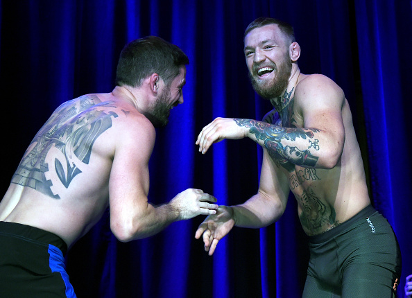 John Kavanagh and Conor McGregor