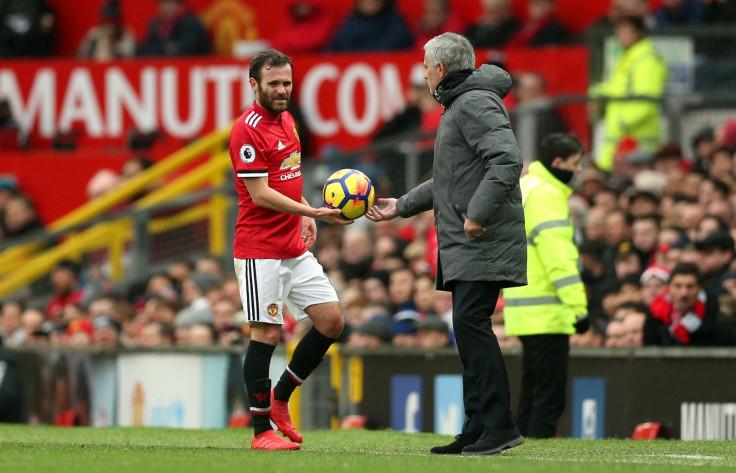 Juan Mata-Jose Mourinho