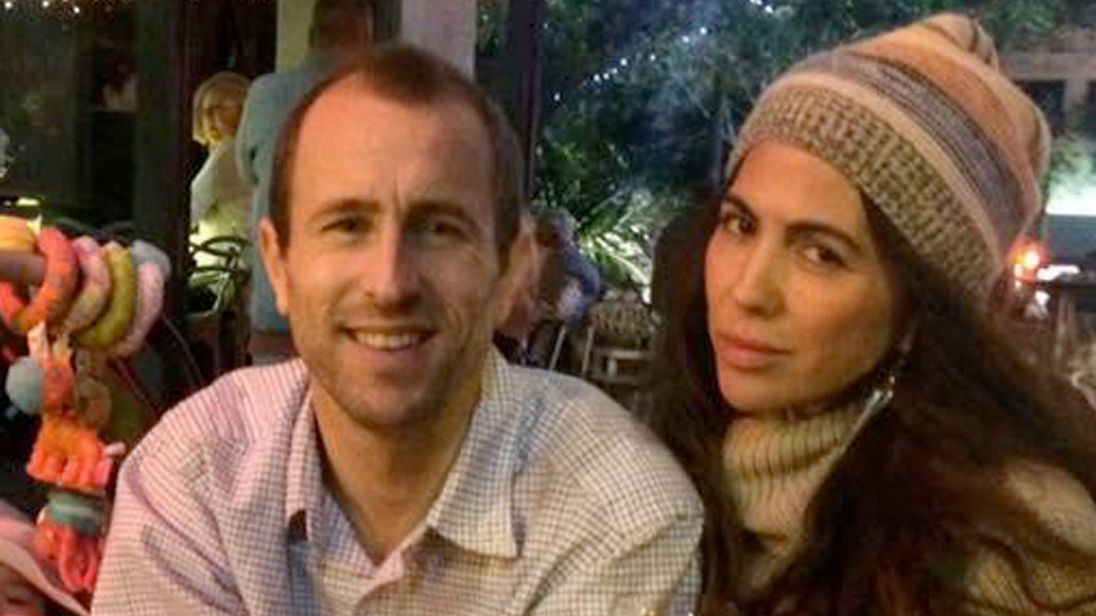 Briton Lewis Bennett is accused of killing his American wife Isabella Hellmann