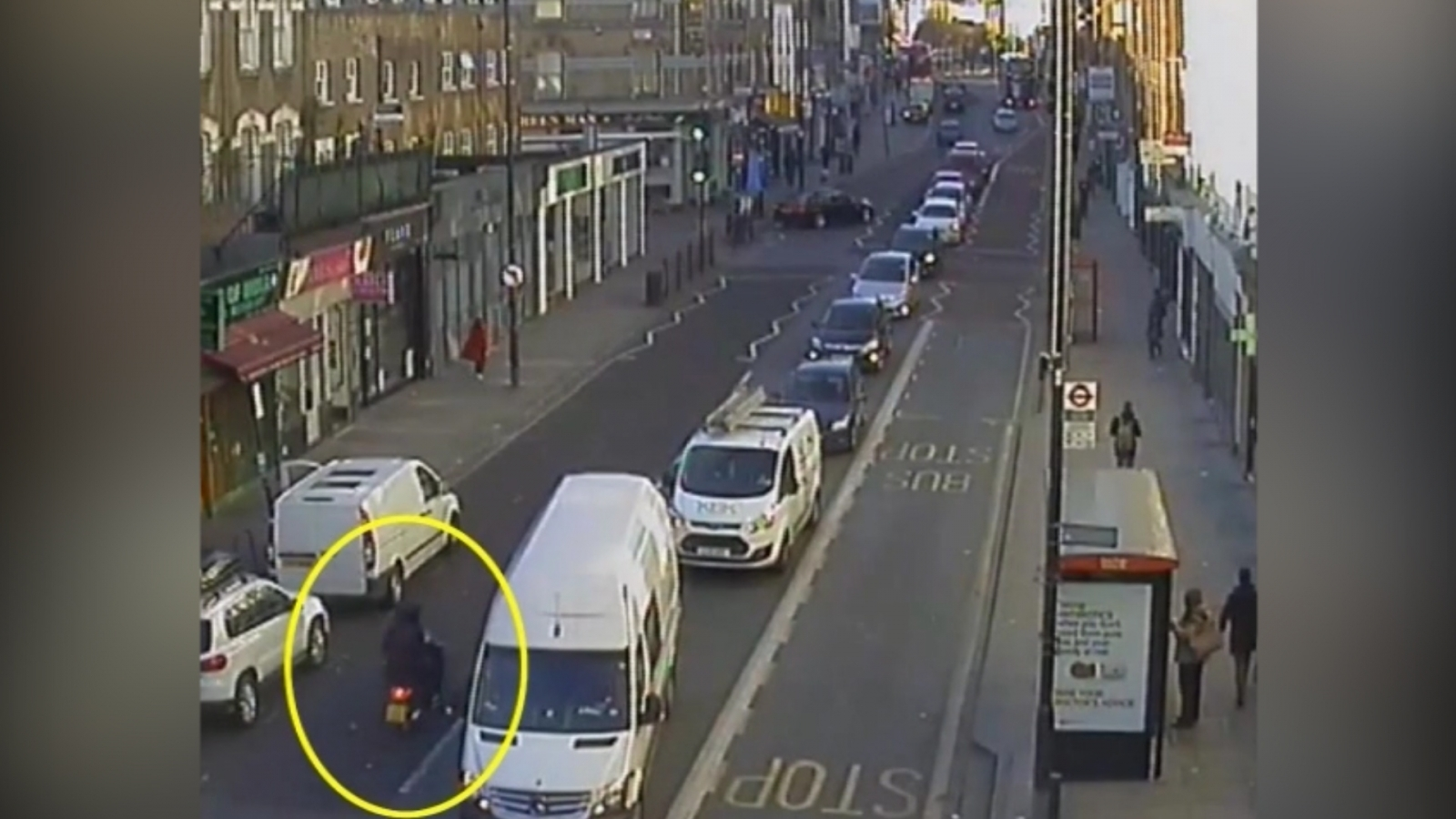 Stolen moped thief caught by police after crashing and nearly killing accomplice