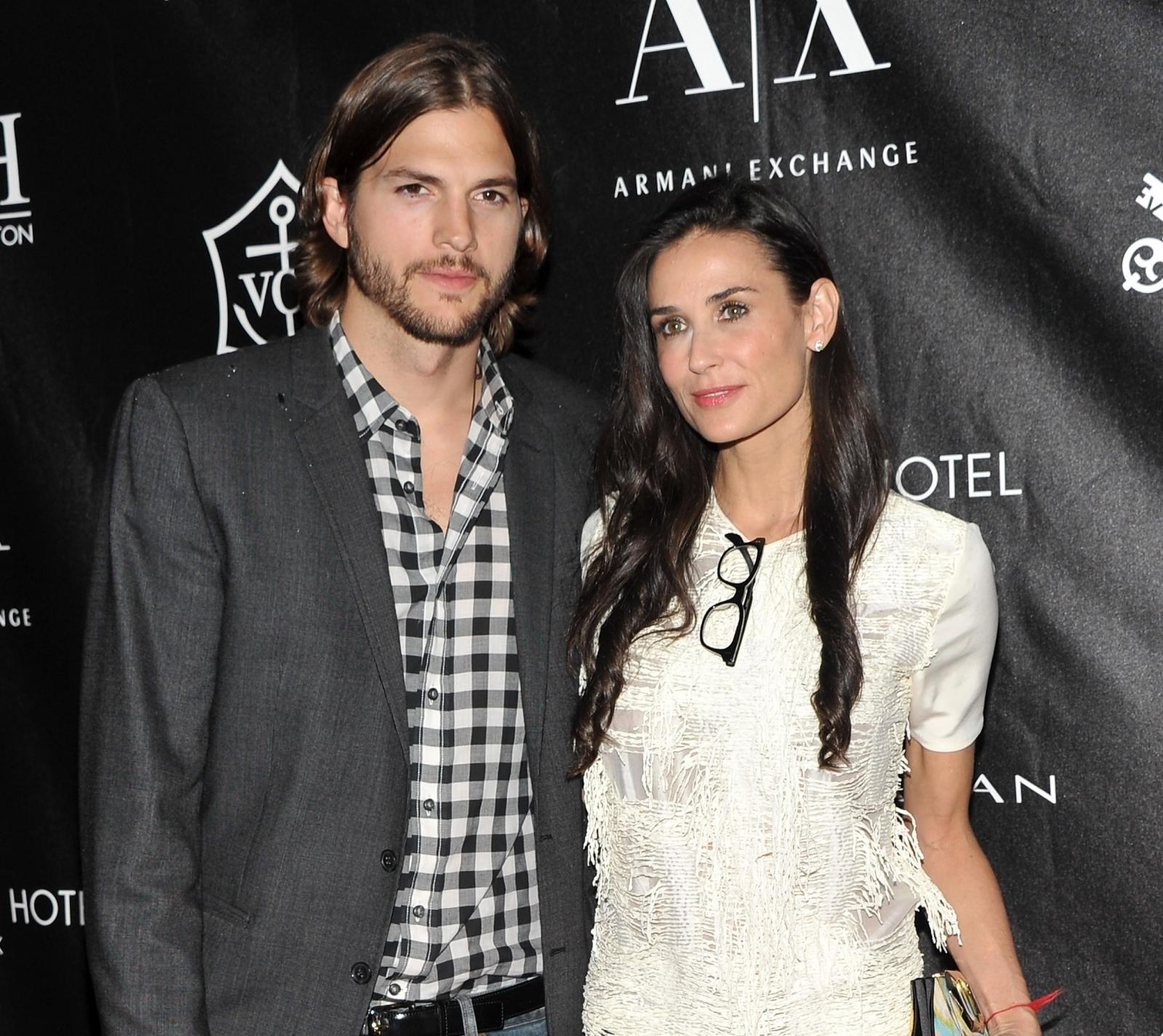 Ashton Kutcher reveals new details of Demi Moore divorce
