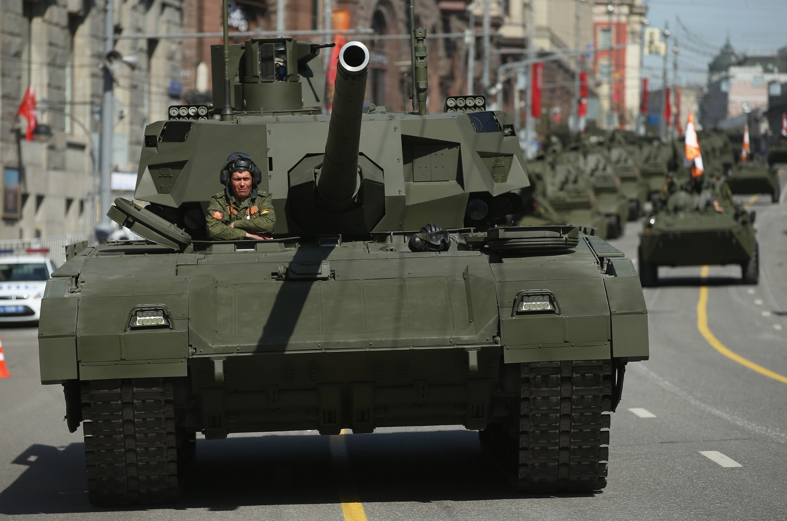 Russia's Armata T-14 tank, billed as the most advanced in the world, is a decade behind schedule