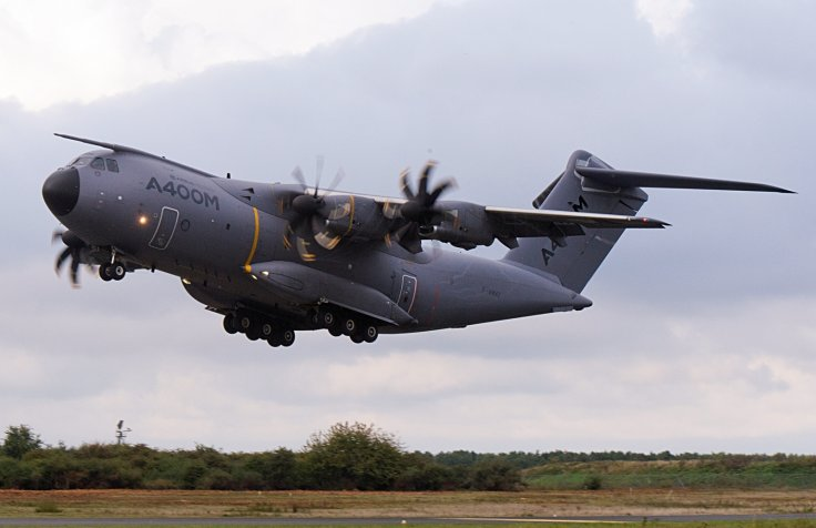 Germany's parliamentary commissioner for the armed forces said at times during last year none of the 14 Airbus A-400M the county owned could fly