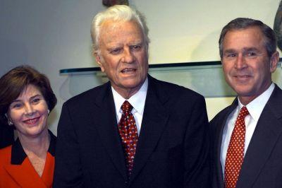George W. Bush Billy Graham