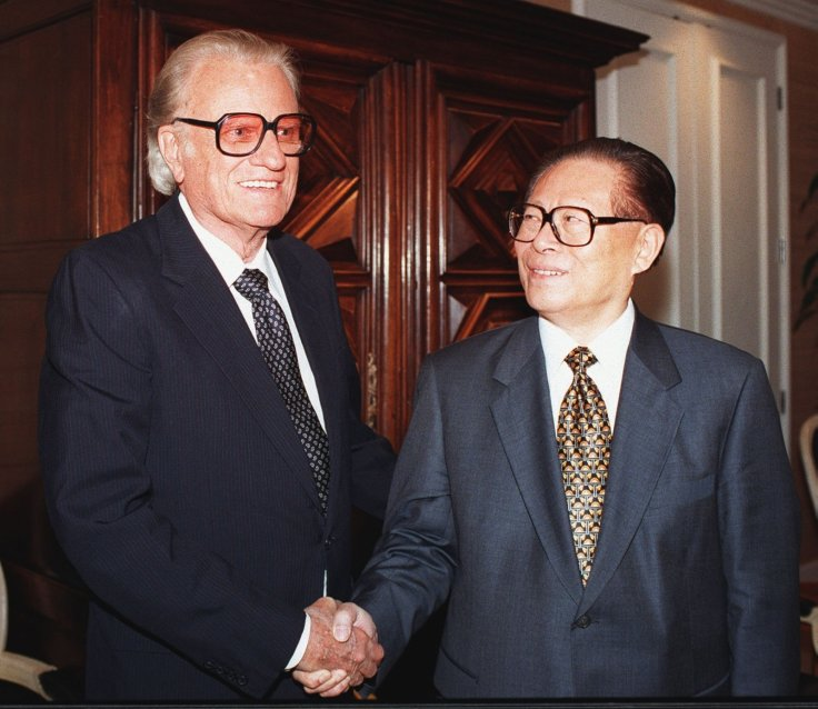 Jiang Zemin billy graham