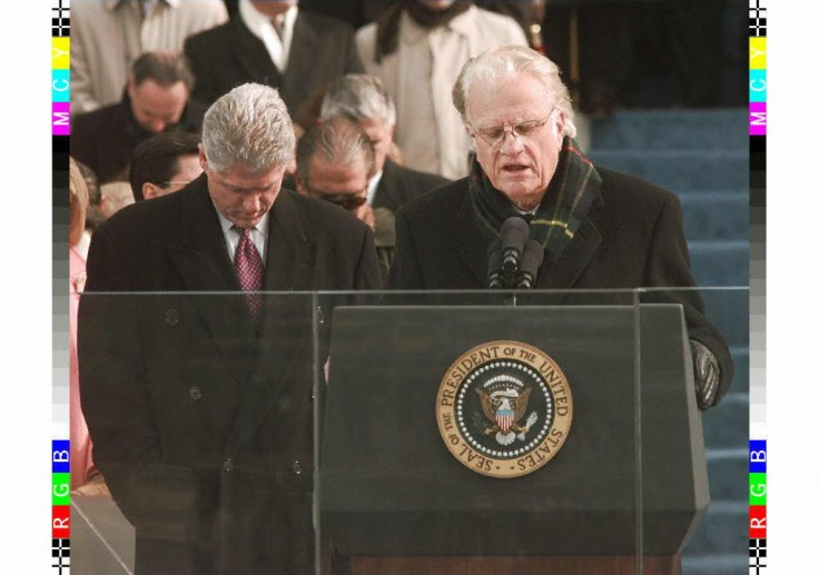 Bill Clinton Billy Graham