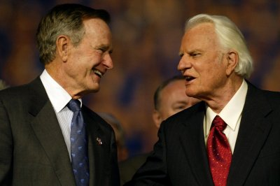 George Bush Billy Graham