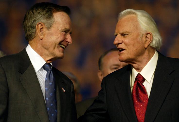 George Bush Billy Graham