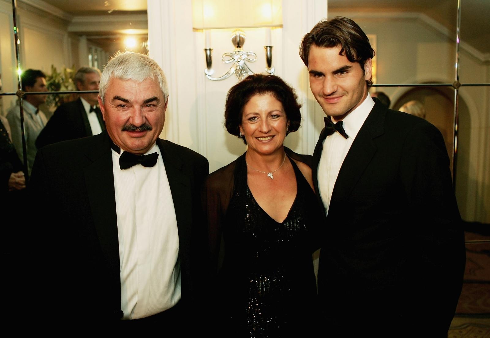 Robert Federer, Lynette Federer, Roger Federer