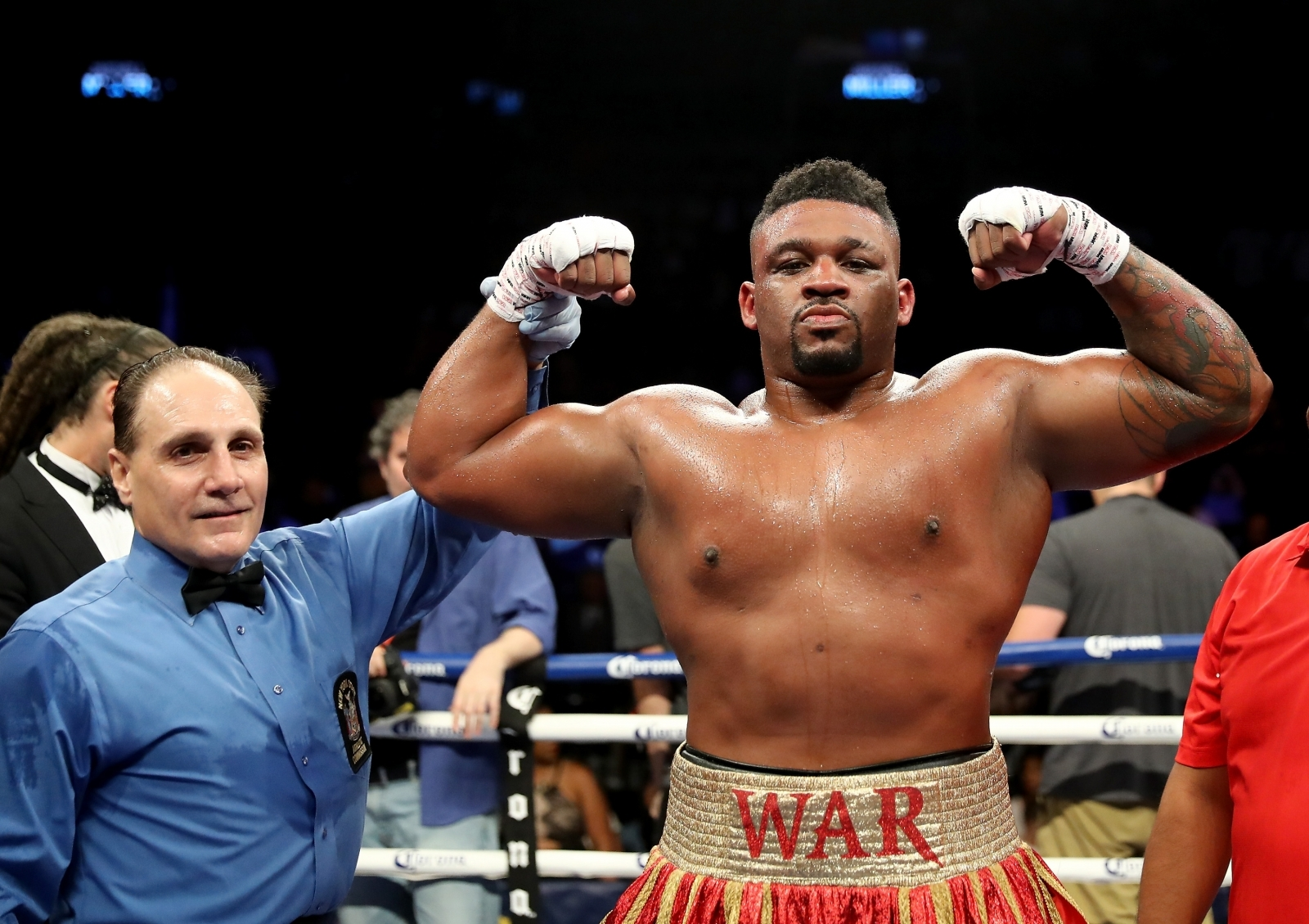 Who is jarrell miller big baby earmarked as anthony joshuas jarrell miller malvernweather Image collections